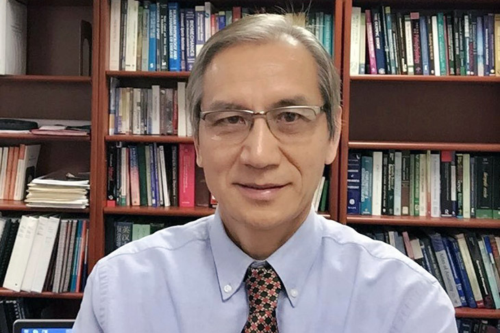 """portrait of Yong """"Tai"""" Wang."""