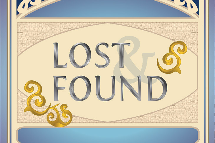logo for Lost & Found game.