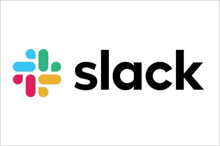 logo for Slack.