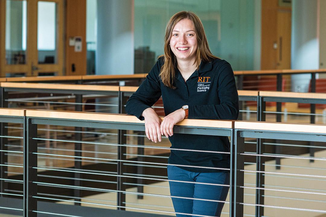 student Isabel Stoeckley.