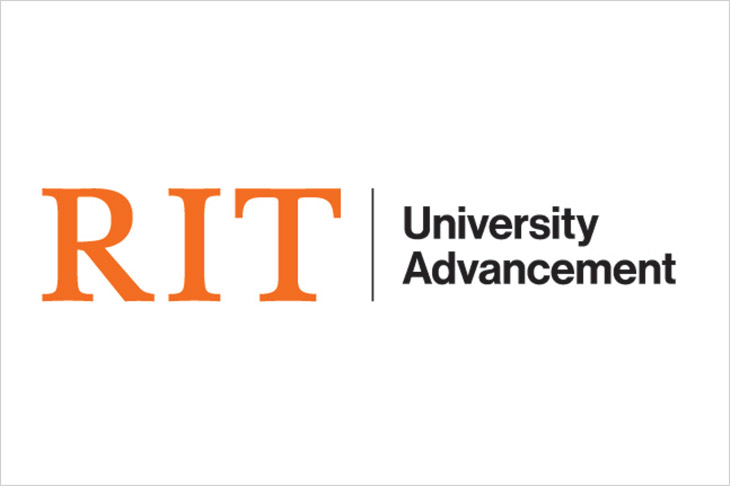 logo for RIT's Division of University Advancement.
