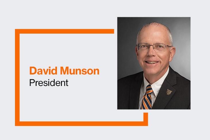 David Munson, RIT President.