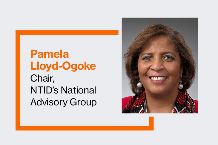 Pamela Lloyd-Ogoke, chair, NTID's National Advisory Group.