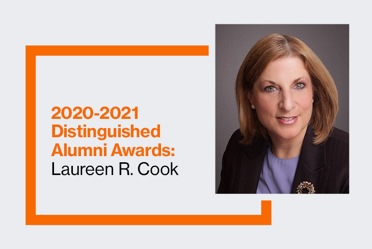 College of Engineering Technology 2020-2021 Distinguished Alumna Laureen R. Cook