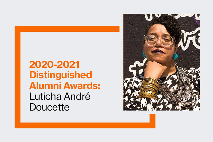 School of Individualized Study 2020-2021 Distinguished Alumna: Luticha Andre Doucette