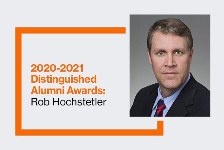 College of Science 2020-2021 Distinguished Alumnus: Rob Hochstetler