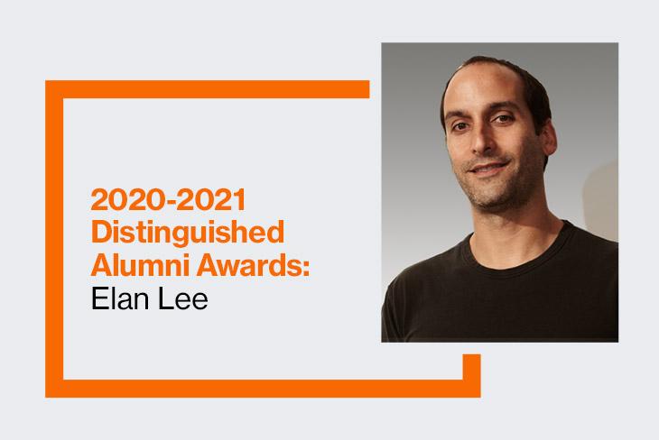 Golisano College of Computing and Information Sciences 2020-2021 Distinguished Alumnus: Elan Lee