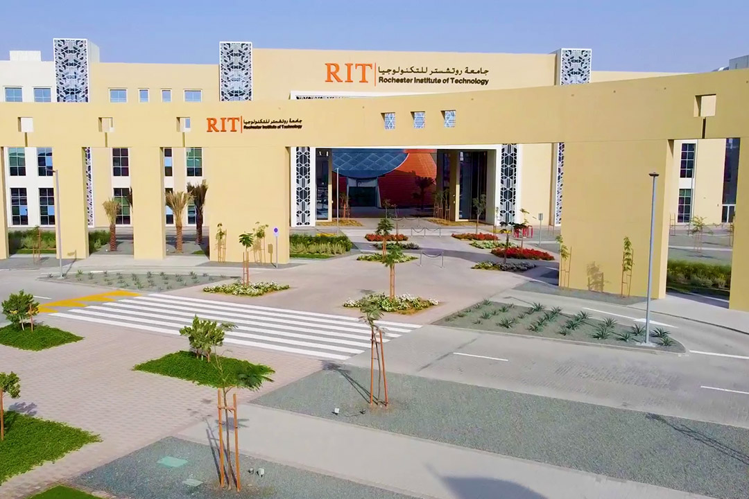 exterior of RIT Dubai campus.