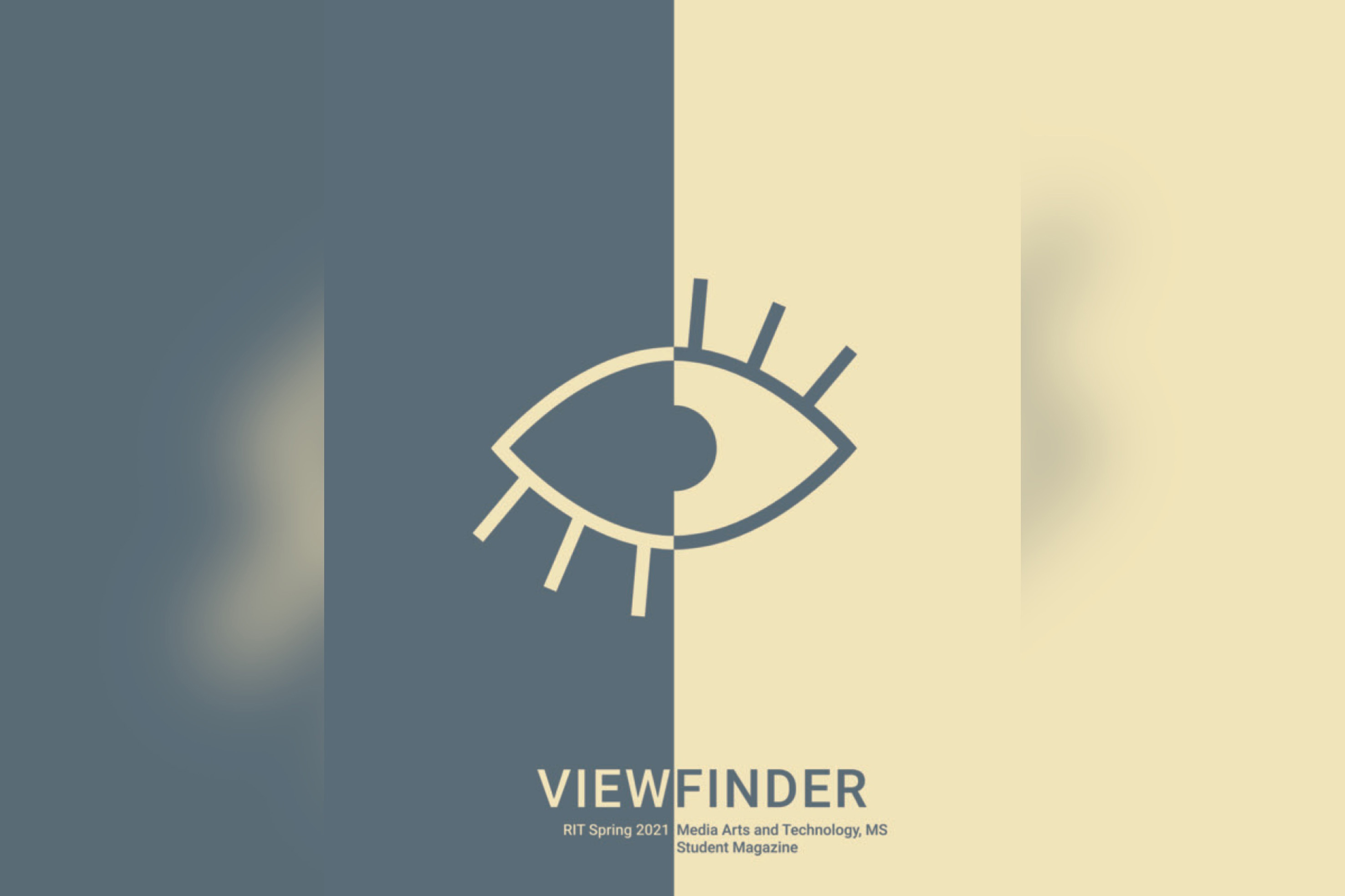The cover of Viewfinder magazine.