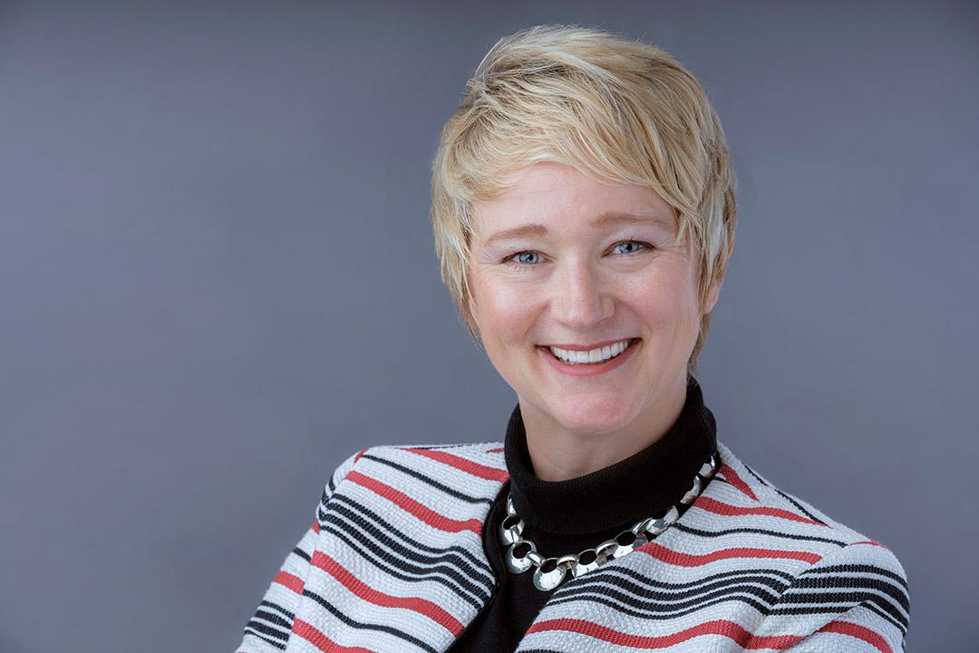 portrait of new liberal arts dean Anna Westerstahl Stenport.