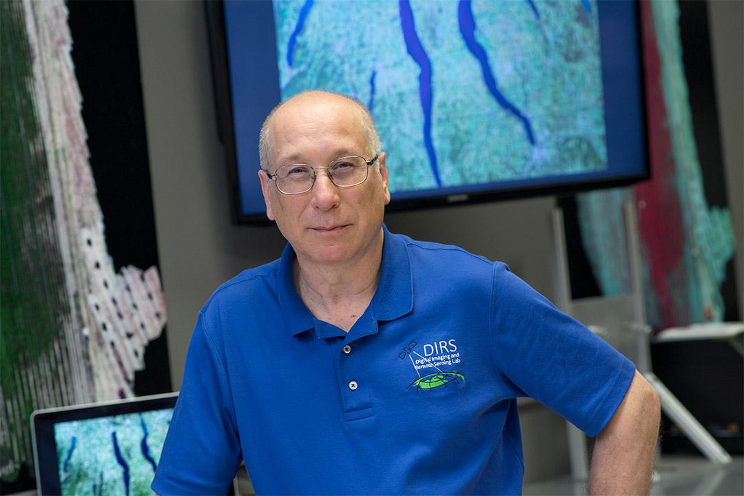 environmental portrait of professor John Kerekes.