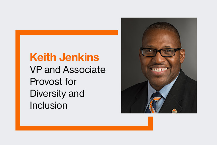 Keith Jenkins, VP and associate provost for diversity and inclusion.