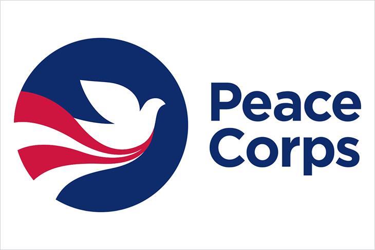 Peace Corps logo.