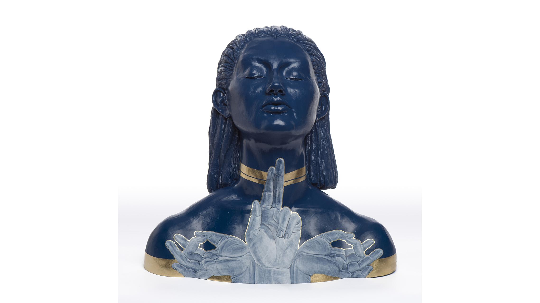 A ceramics piece by Zara Davis