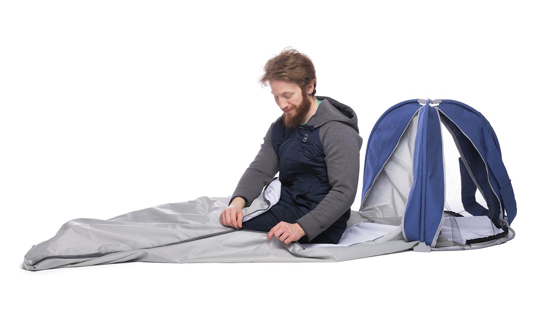 A portable tent design