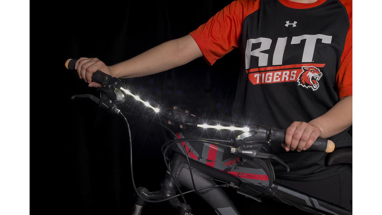 A bike lighting system