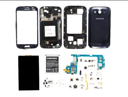 smartphones taken apart