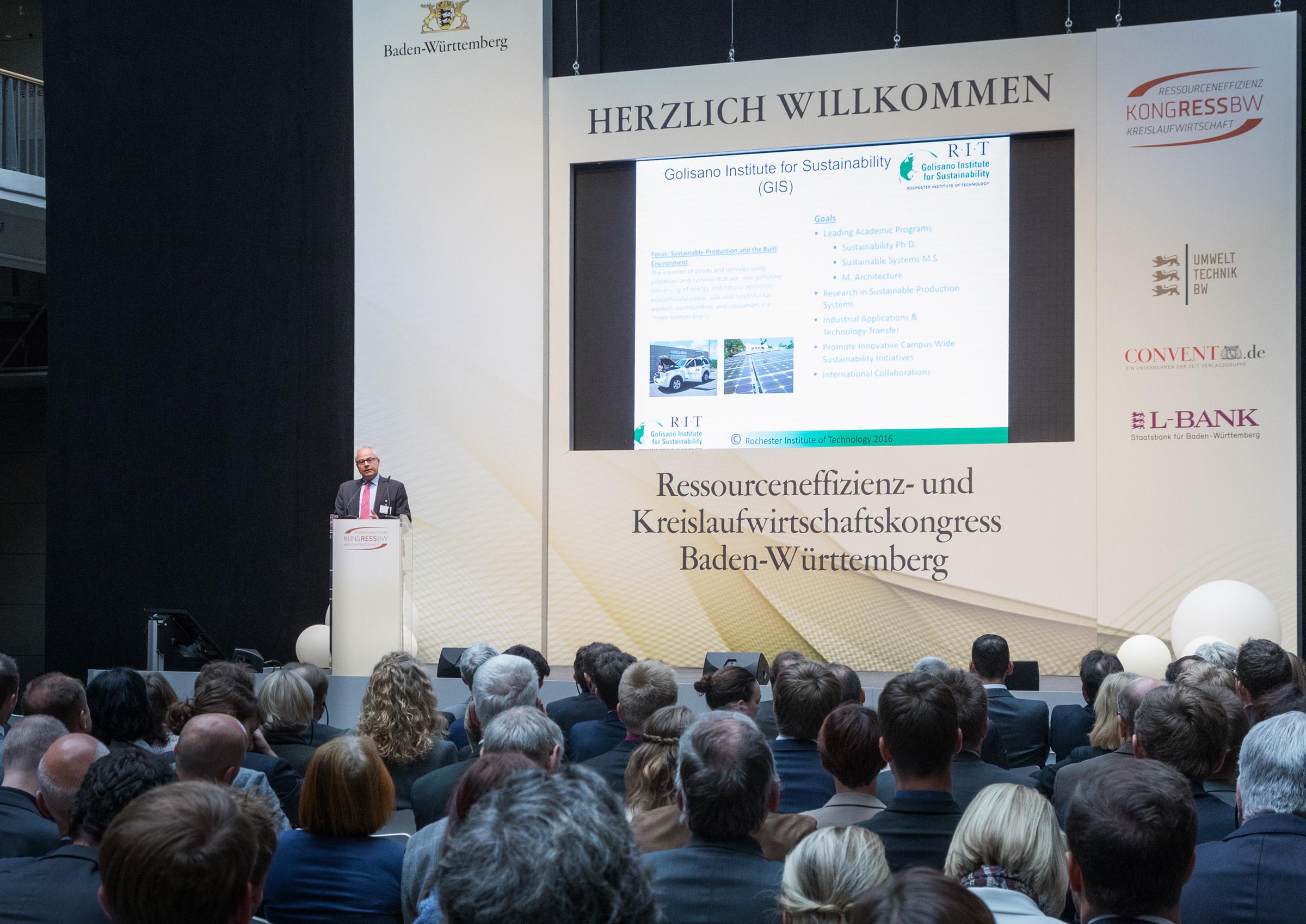 Nabil Nasr presenting at Karlsruhe